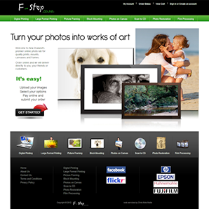 F-Stop Photography - website by Chris Mole Media