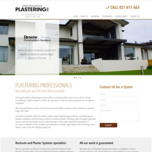 Proudfoot Plastering