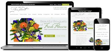 Ilam Florist, Christchurch New Zealand uses Google AdWords and a high-converting ecommerce website to sell more flowers online