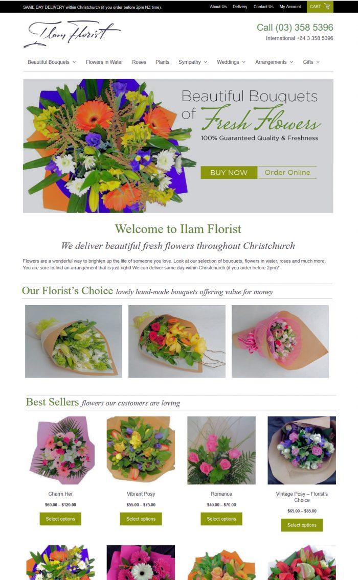 Ilam Florist Christchurch